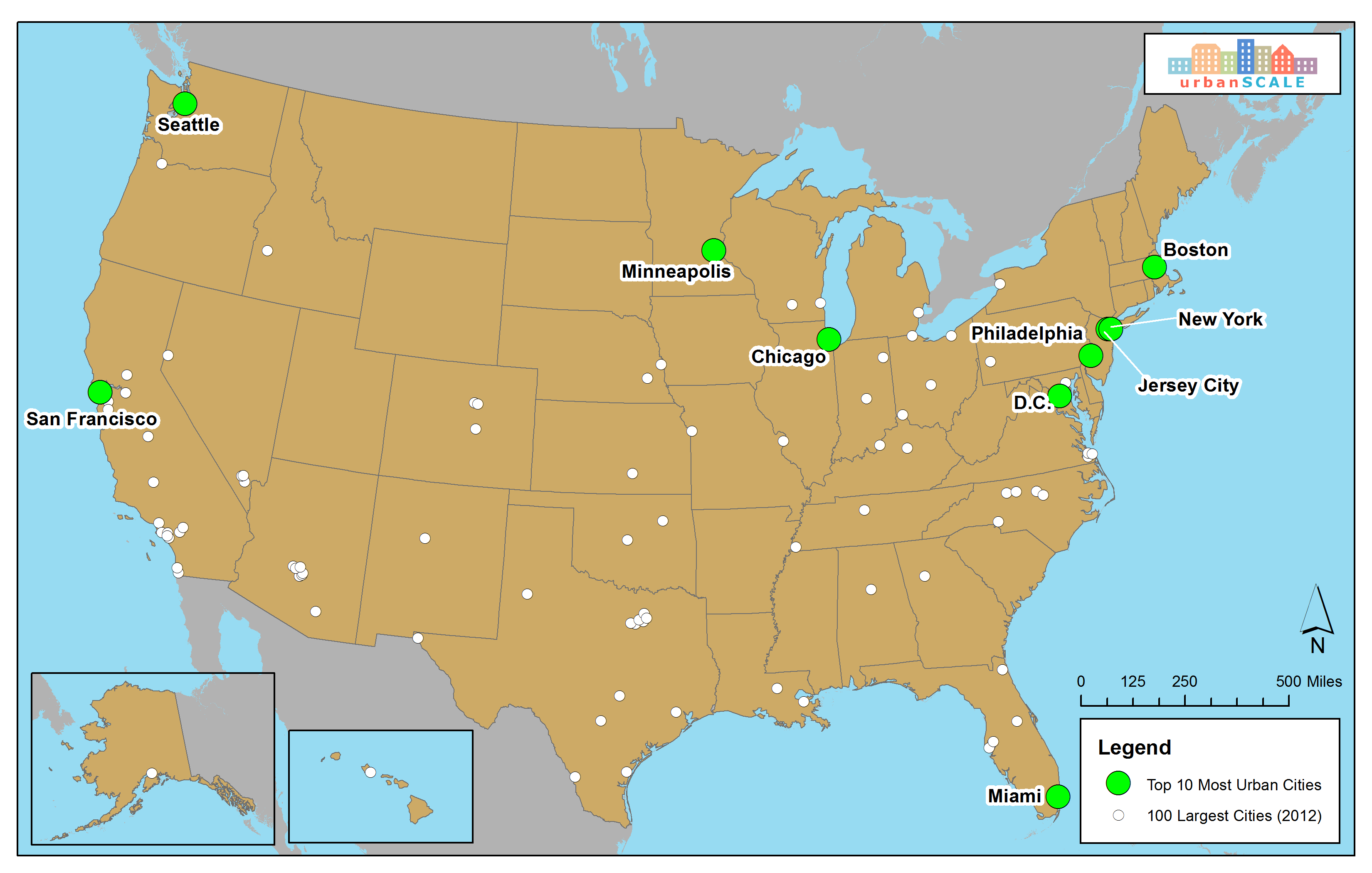 Us Main Cities Map Globalinterco - Wikimedia commons us maps most popular