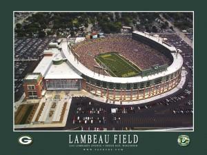 Lambeau Field, Home of the NFL Green Bay Packers