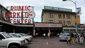 Pike Place Market: Seattle, WA