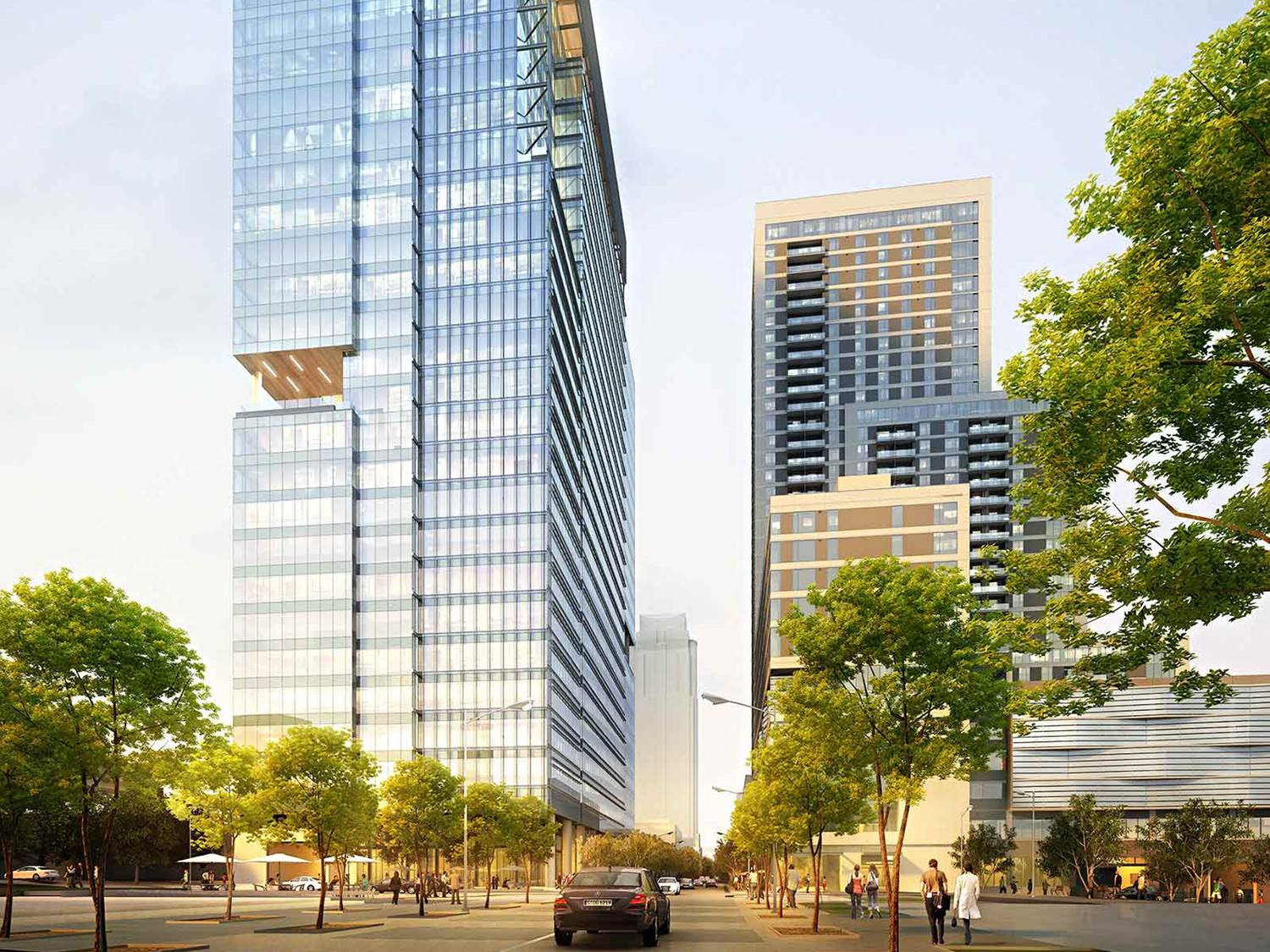 Image Credit: Green Water : Block 23 Office Tower via Trammell Crow Company