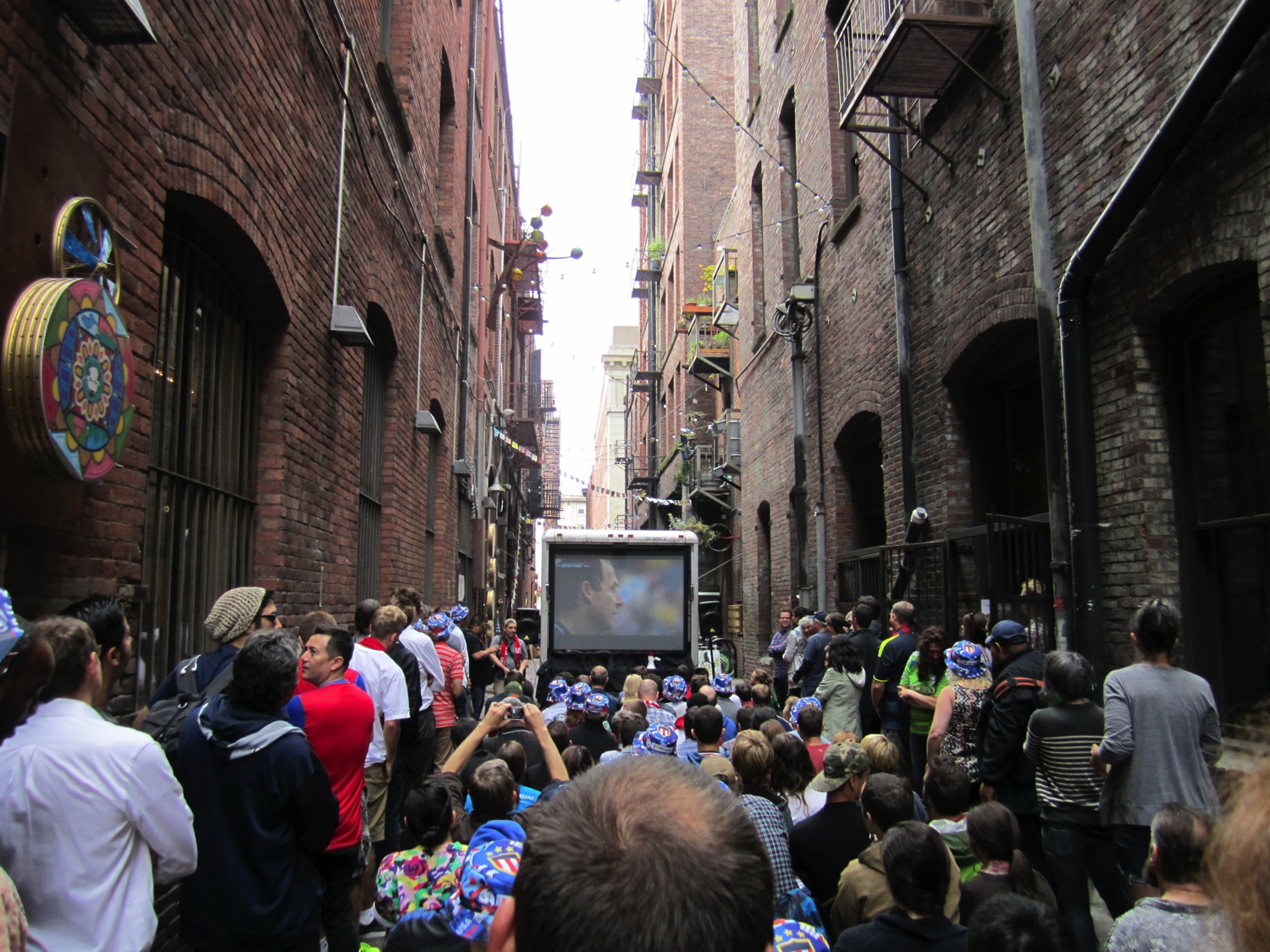USA-GER at Nord Alley by SounderBruce via Flickr (CC BY-SA 2.0)
